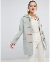 Gloverall Melissa - Duffle-coat court à capuche - Vert