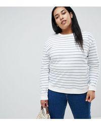ASOS Asos Design - Maternity - Gestreepte Sweater - Meerkleurig