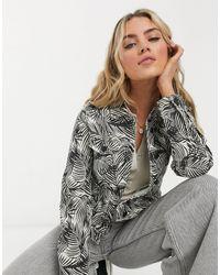 Vero Moda Denim Jacket - Multicolor