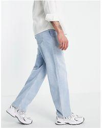 Weekday Galaxy - Jeans ampi - Blu