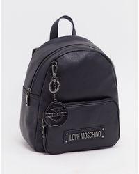 Love Moschino Classic Backpack - Black