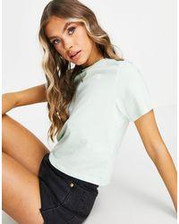 The North Face - Camiseta corta color menta Seasonal - Lyst