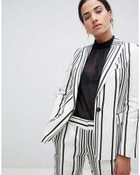 Reiss - Striped Rodeo Blazer - Lyst