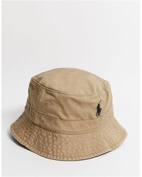 Polo Ralph Lauren Панама С Логотипом -светло-коричневый - Естественный