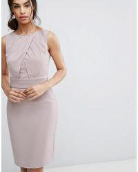 Reiss - Benoit Fitted Day Dress - Lyst