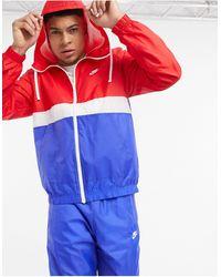 Nike – Club – Gewebter Trainingsanzug - Blau
