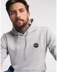 adidas Originals – Bodega – er Kapuzenpullover mit Basketball-Stickerei - Grau