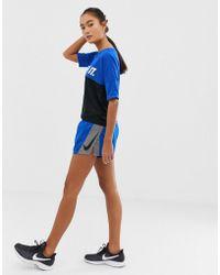 Nike - Elevate Colourblock Shorts In Blue - Lyst