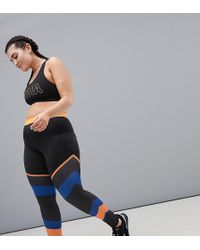 South Beach - Multi Stripe Gym Leggings - Lyst