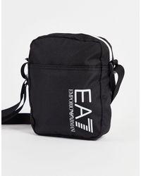 EA7 Armani Train Core Mini Logo Pouch Bag - Black
