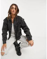 Bershka - Denim Jacket - Lyst