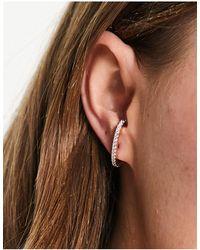 ASOS T Bar Ear Cuffs - Multicolour