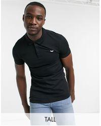 Threadbare - Черная Рубашка Из Поплина Tall-черный Цвет - Lyst