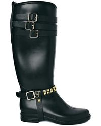 SuperTrash - Sammy Knee High Wellington Boots - Lyst