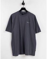 Dr. Denim Nix - T-shirt - Noir