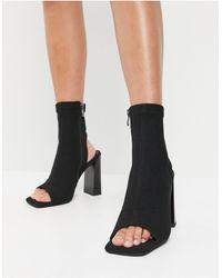 SIMMI Shoes Simmi London - Avis - Bottines peep toes - Noir