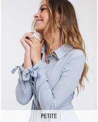 Miss Selfridge Robe chemise - pastel - Bleu