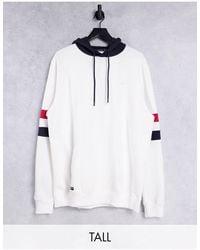 Threadbare Tall - Hoodie oversize (ensemble) - multicolore - Blanc