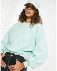 Threadbare Dixie Oversize Sweatshirt - Green