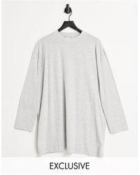 Collusion - – Langärmliges T-Shirt-Kleid - Lyst