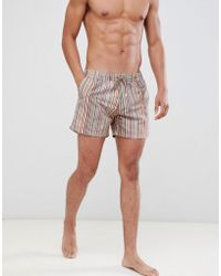 Paul Smith - Classic Stripe Swim Short - Lyst
