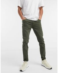 Jack & Jones Intelligence Skinny Fit Trousers - Green