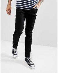 Weekday - Friday Black Skinny Jeans - Lyst