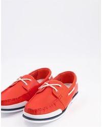 Lacoste Nautic Loafers - Orange
