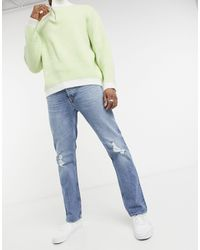 Won Hundred Axel Straight Fit Jeans - Blue