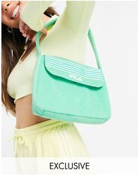 Fila Towelling Bag - Green