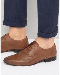 KG by Kurt Geiger - Kg By Kurt Geiger Kenford Brogue Derby Shoes - Lyst