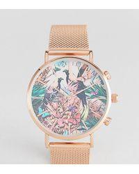 Reclaimed (vintage) Часы Цвета Розового Золота Inspired Эксклюзивно Для Asos - Многоцветный