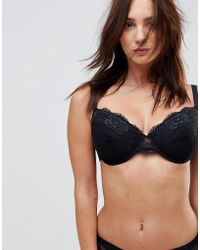 ASOS - Asos Fuller Bust Ruby Mix & Match Picot Trim Lace Moulded Bra - Lyst