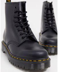 Dr. Martens Черные Ботинки С 8 Парами Люверсов 1460-черный