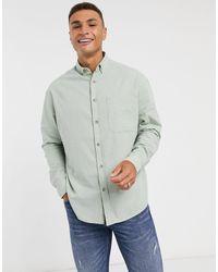 ASOS - 90s Oversized Linen Look Shirt - Lyst