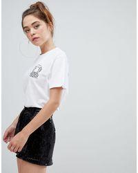 Bershka Camiseta blanca star wars - Blanco
