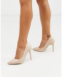 Lipsy Patent Court Shoes-pink