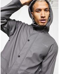 Pull&Bear Raincoat - Grey