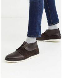 Tommy Hilfiger Гибридные Ботинки Чукка Tommy Hilfifger-коричневый