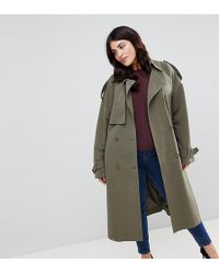 ASOS - Statement Mac With Buckle Detail - Lyst