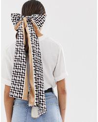 Glamorous Sjaal Met Monogramprint - Meerkleurig