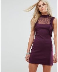 Free People - Beaumont Muse Lace Detail Dress - Lyst