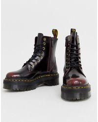 Dr. Martens - Кожаные Ботинки На Массивной Подошве Jadon - Lyst