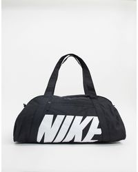 Nike Borsa a sacco nera con logo - Nero