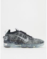 Nike Черные/белые Кроссовки Air Vapormax 2020 Flyknit-черный Цвет