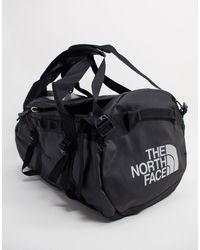 The North Face Черная Спортивная Сумка Среднего Размера Base Camp, Вместимость 71 Л-черный