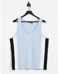 ASOS Relaxed Vest - Blue