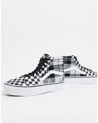 Vans Ua Sk8-hi Platform 2 - Sneakers - Zwart
