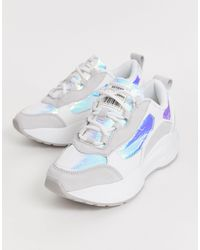 Sixtyseven Sixty Seven Lace Up Chunky Trainers - White