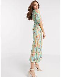 Closet Midi Dress - Multicolor